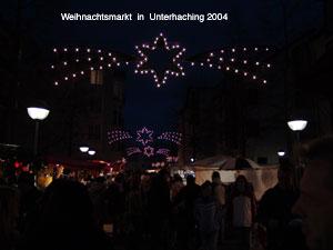 Haidhausen Weihnachtsmarkt.Weihnachtsmarkt Unterhaching Haidhausen Org